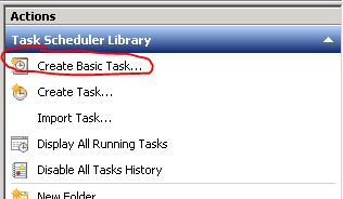 How to schedule a Powershell script using Scheduled tasks in